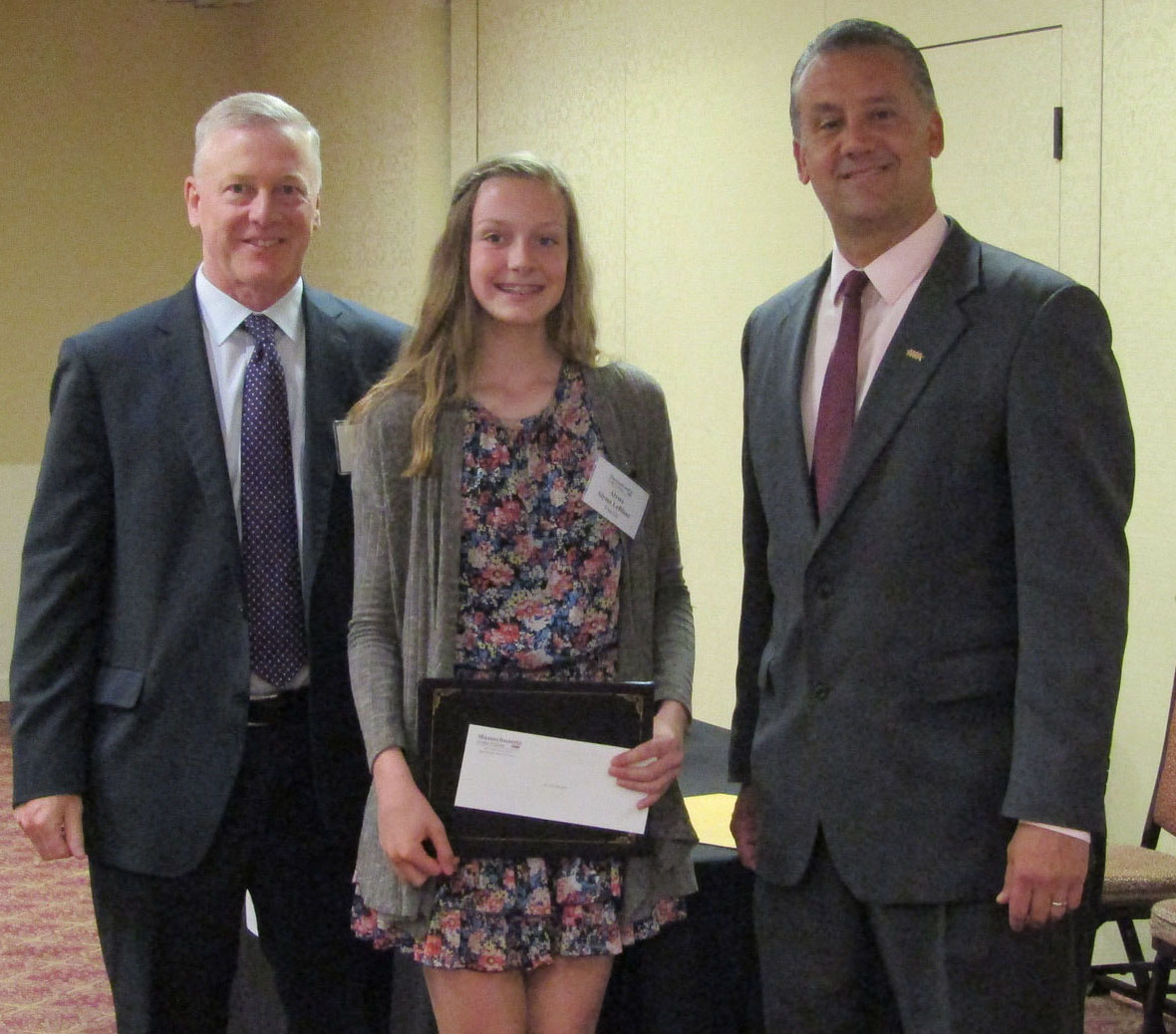 Leominster Credit Union Sponsors Two Ccua Essay Contest Finalists