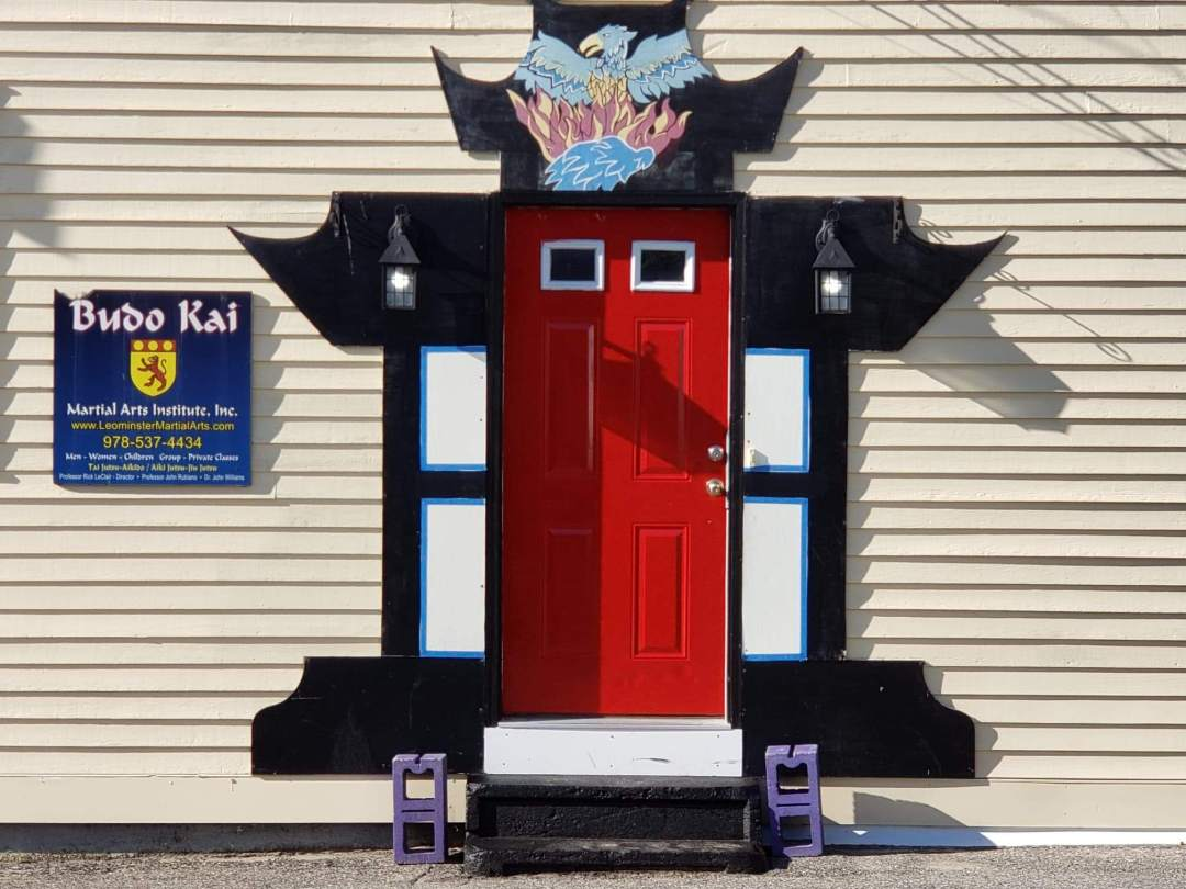 Leominster Martial Arts Entrance