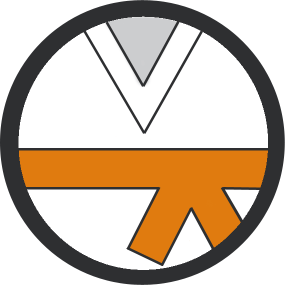 Leominster Martial Arts Orange Belt icon