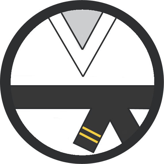 Leominster Martial Arts_Rank_Black Belt 2 stripes