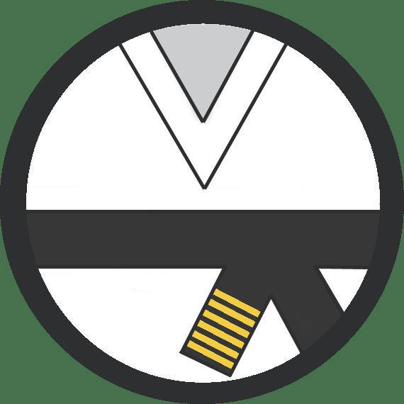 Leominster Martial Arts_Rank_Black Belt 6 Yellow Stripes