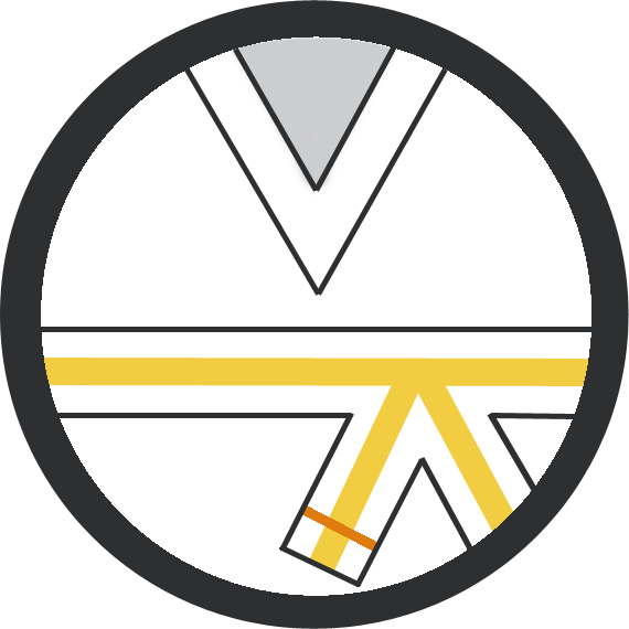 Leominster Martial Arts_Rank_White Yellow Middle Orange Stripe