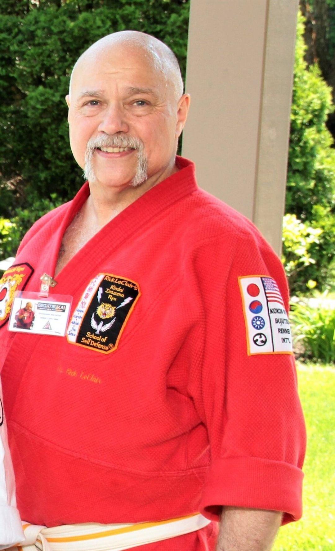 Soke Rick LeClair in Shodai uniform 4