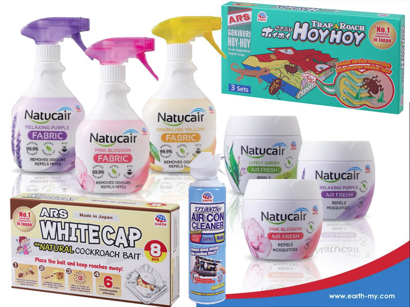JAPAN'S NO 1 HOUSEHOLD INSECTICIDE MANUFACTURER ENTERS MALAYSIA MARKET WITH SIX PRODUCTS