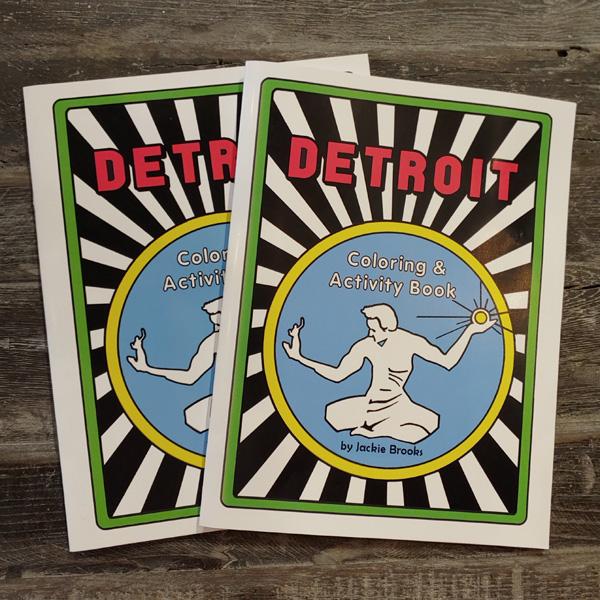 Detroit-Coloring-Books