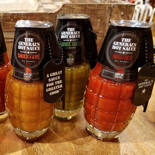 Grenade-Sauces