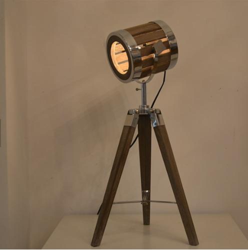 Leonard & Hazel™ Adjustable Tripod Spotlight Lamp