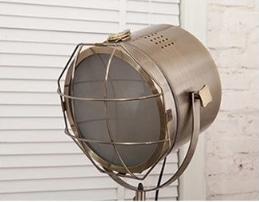 Nordic Style Tripod Spotlight Lamp - Bronze