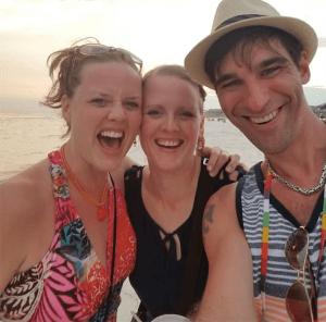 Destin Beach with Tina and Tasha