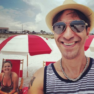Neil and Tina in Destin, FL