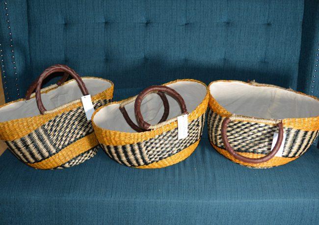 Ghana baskets closeup