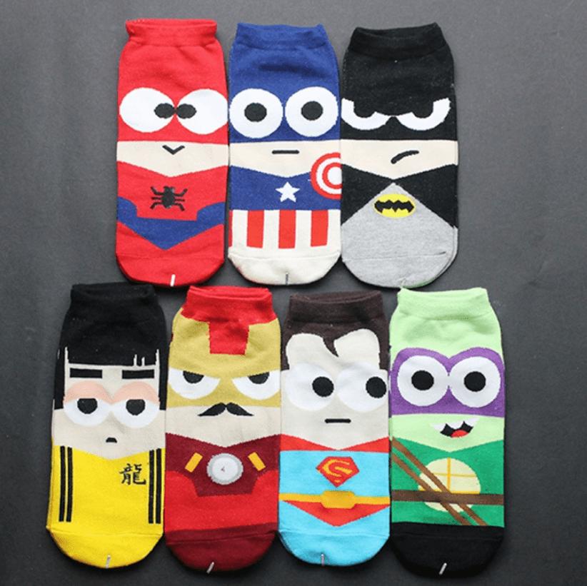 Superhero Ankle Sock