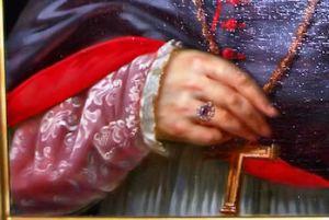 Christian bishops amethyst ring