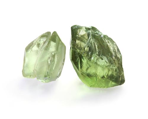 Prasiolite Crystals