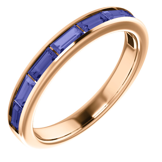 14K Rose Tanzanite Ring from Leonard & Hazel™