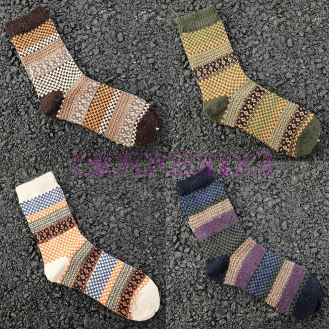 Men's Soft Thick Cotton Socks