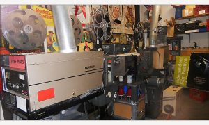 Brattle Theater projection booth