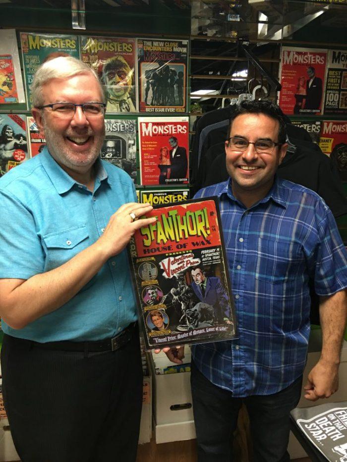 With SFANTHOR! creator Steve Busti