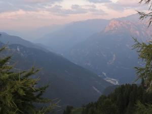 Valle del Piave vista da una cima