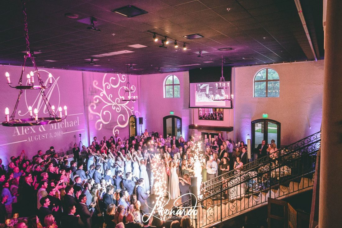 CHAPEL ANA VILLA WEDDING - DALLAS TX WEDDING DJ - LEONARDO EVENT GROUP