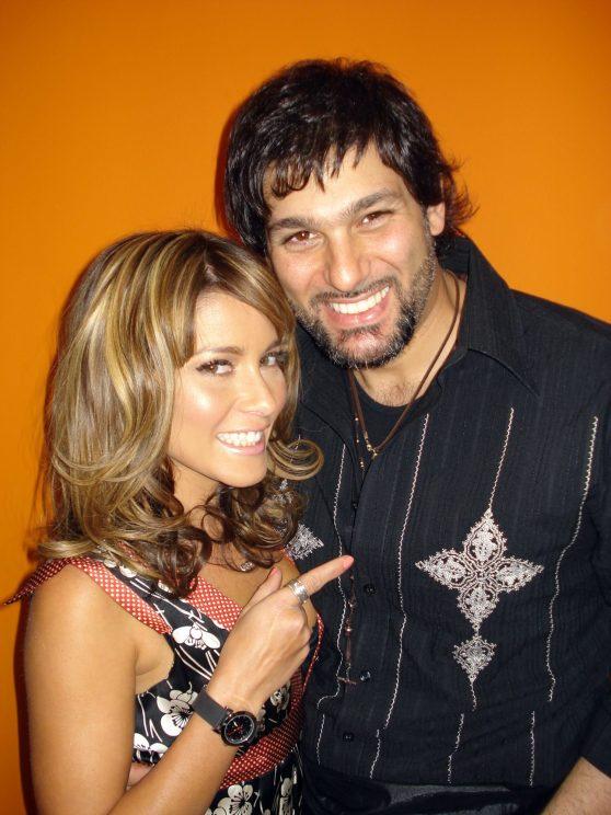 Adriana Fonesca y Leonardo Rocco
