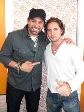 David Bisbal y Leonardo Rocco