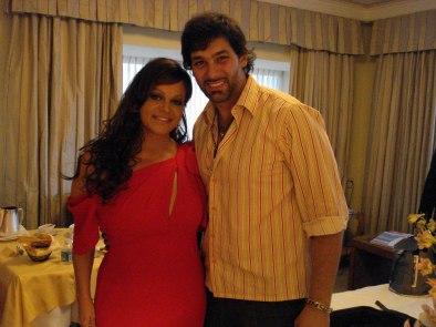 Jenny Rivera y Leonardo Rocco