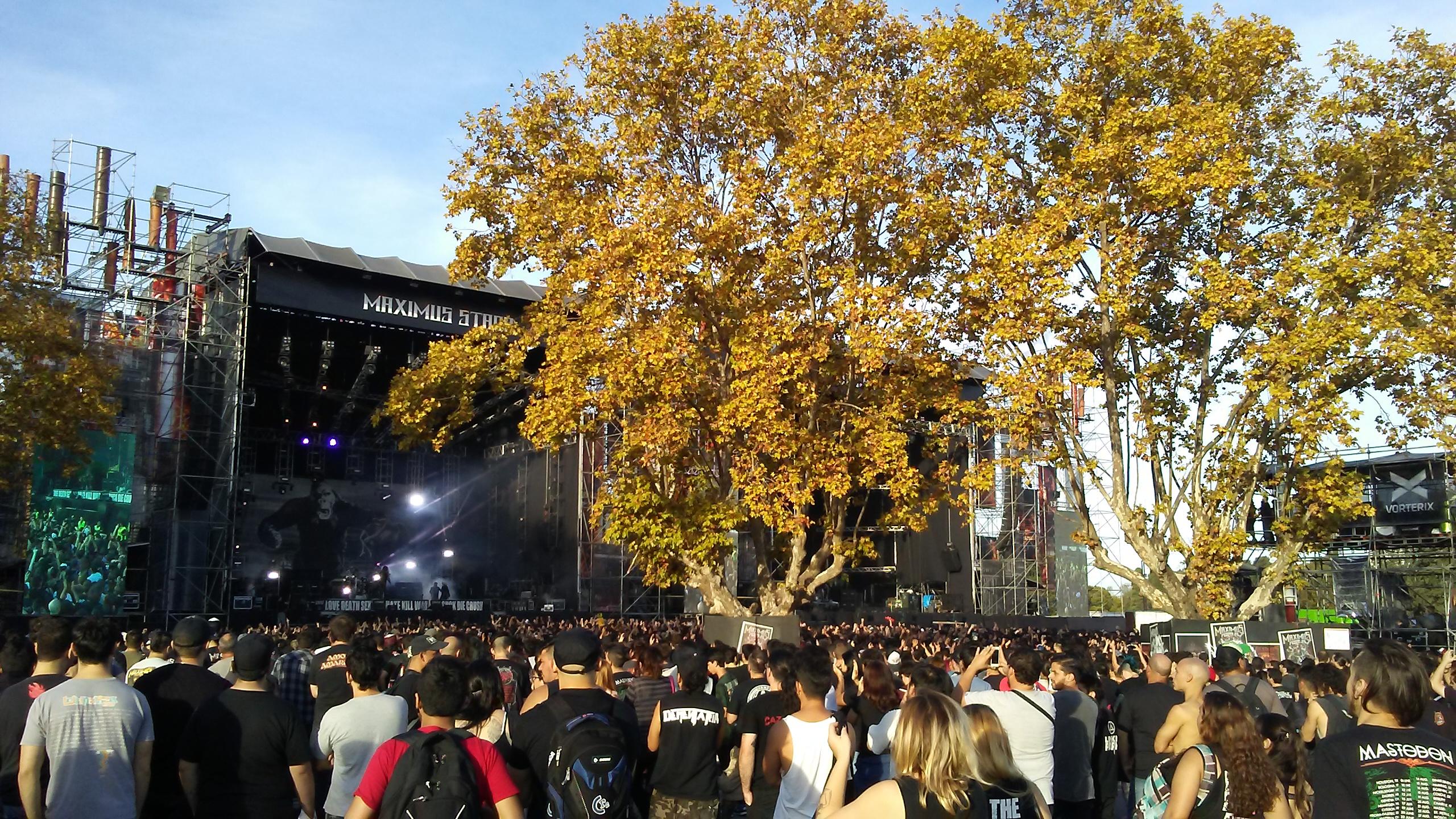 Dos aspectos de lo macabro: Rob Zombie y Slayer en el Maximus Festival.