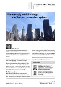 Grundfos Water Boosting