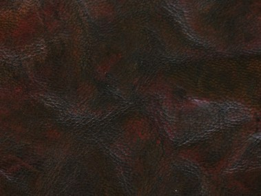Medium Brown Hand-Dyed Rustic Goatskin