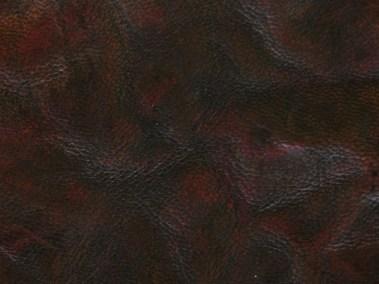 Medium Brown Hand-Dyed Natural Goatskin