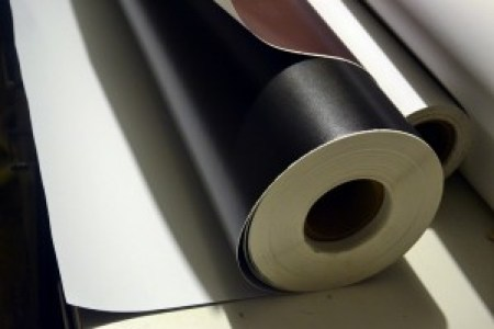 A roll of the quality leatherette we use for end pages