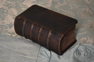 Years ago, all the Bibles were hardcovers.