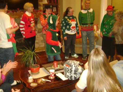 Ugly Sweater Contestants - 2017