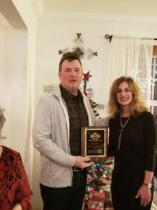 2018 Service To Mankind Award Recipients, Steve and Tamara Reaves.