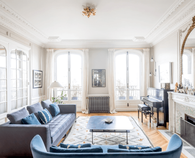 parisian apartment decor style