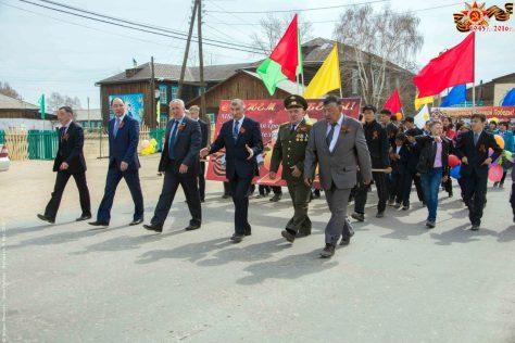 9 мая в Курумкане