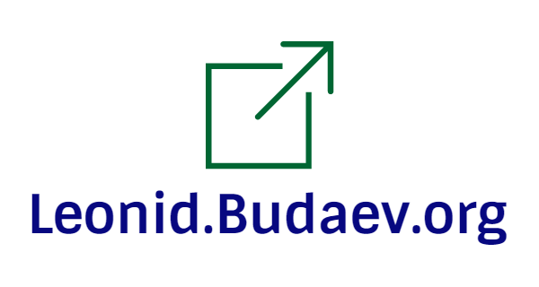 Leonid.Budaev.org + logo