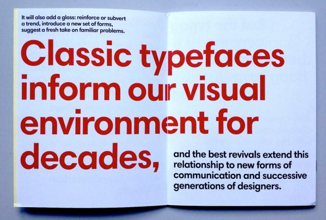 Classic typefaces quote