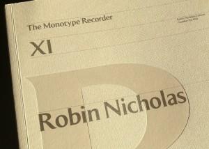 Monotype Recorder
