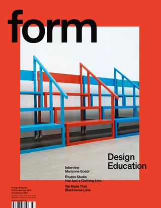 form magazine cover
