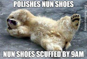 Nun Shoes