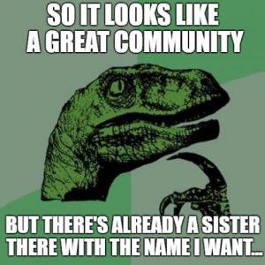 Great community?
