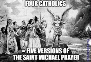 Saint michael prayer