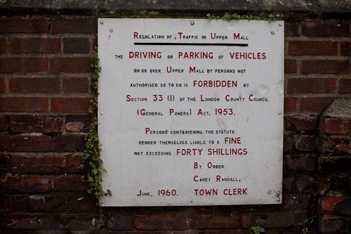 parking fines 1960