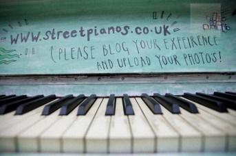a streetpianos installation, bunhill cemetery, city road, london
