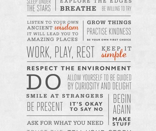 Manifesto 2013 by Leonie Wise