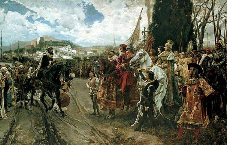 La reconquista de Granada