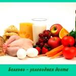 Белково — углеводная диета
