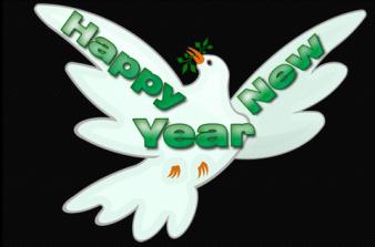 friedenstaube – happy new year